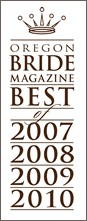 Oregon Bride Magazine's Best of 2007-2016